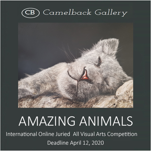 """Amazing Animals"" Online Juried All Visual Arts Competition"