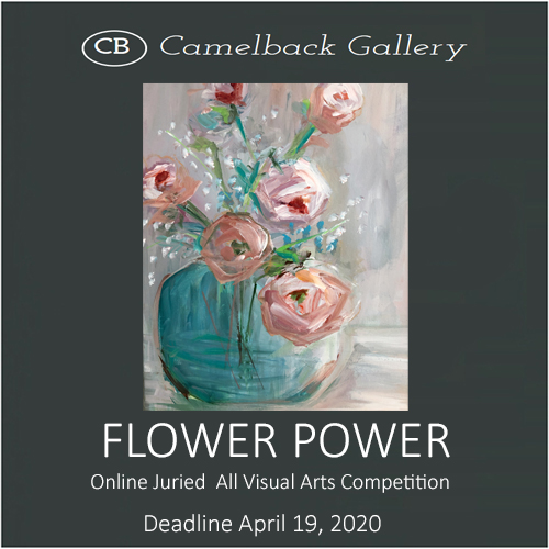 """Flower Power"" Online Juried All Visual Arts Competition"