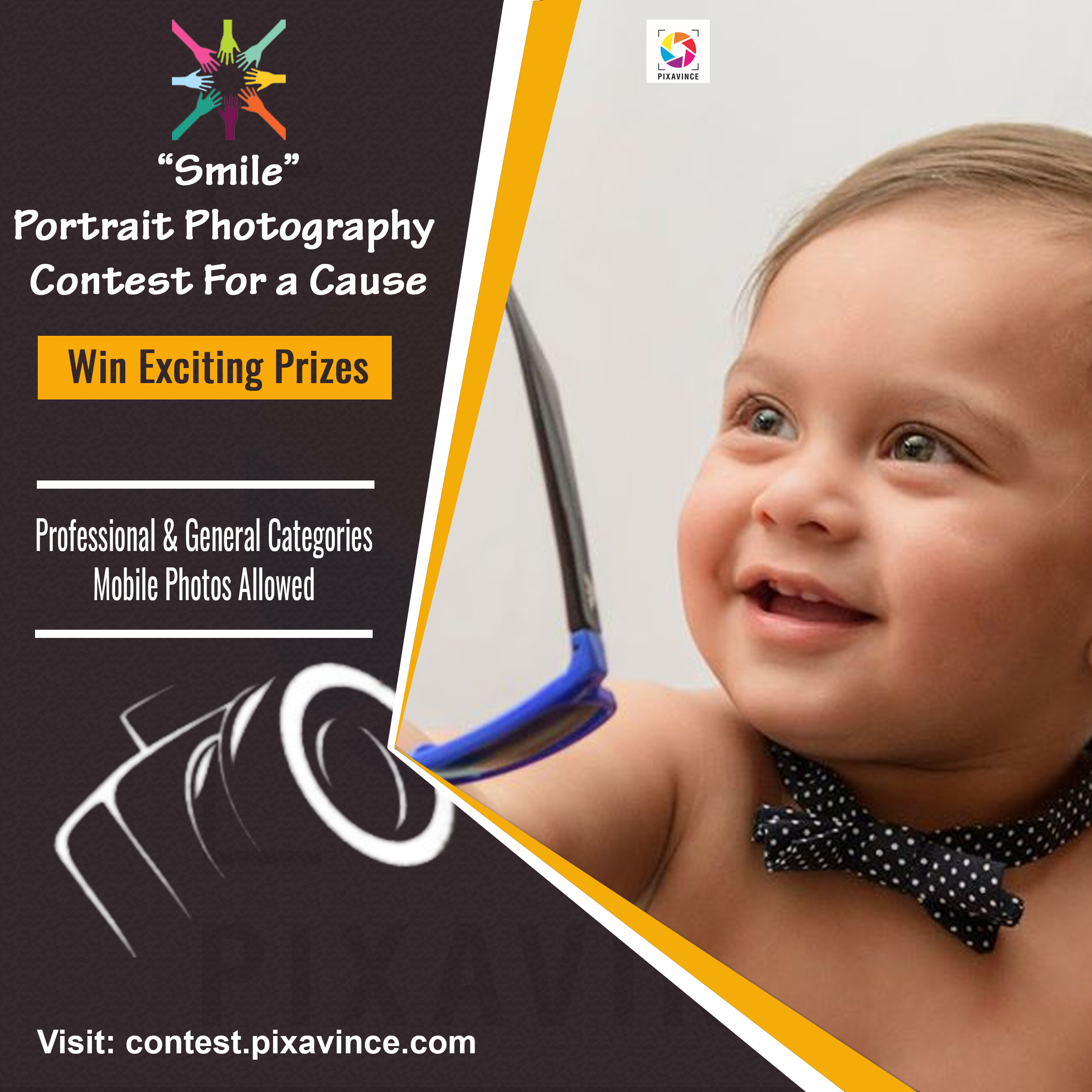 Smile: Portrait Photography Contest For A Cause