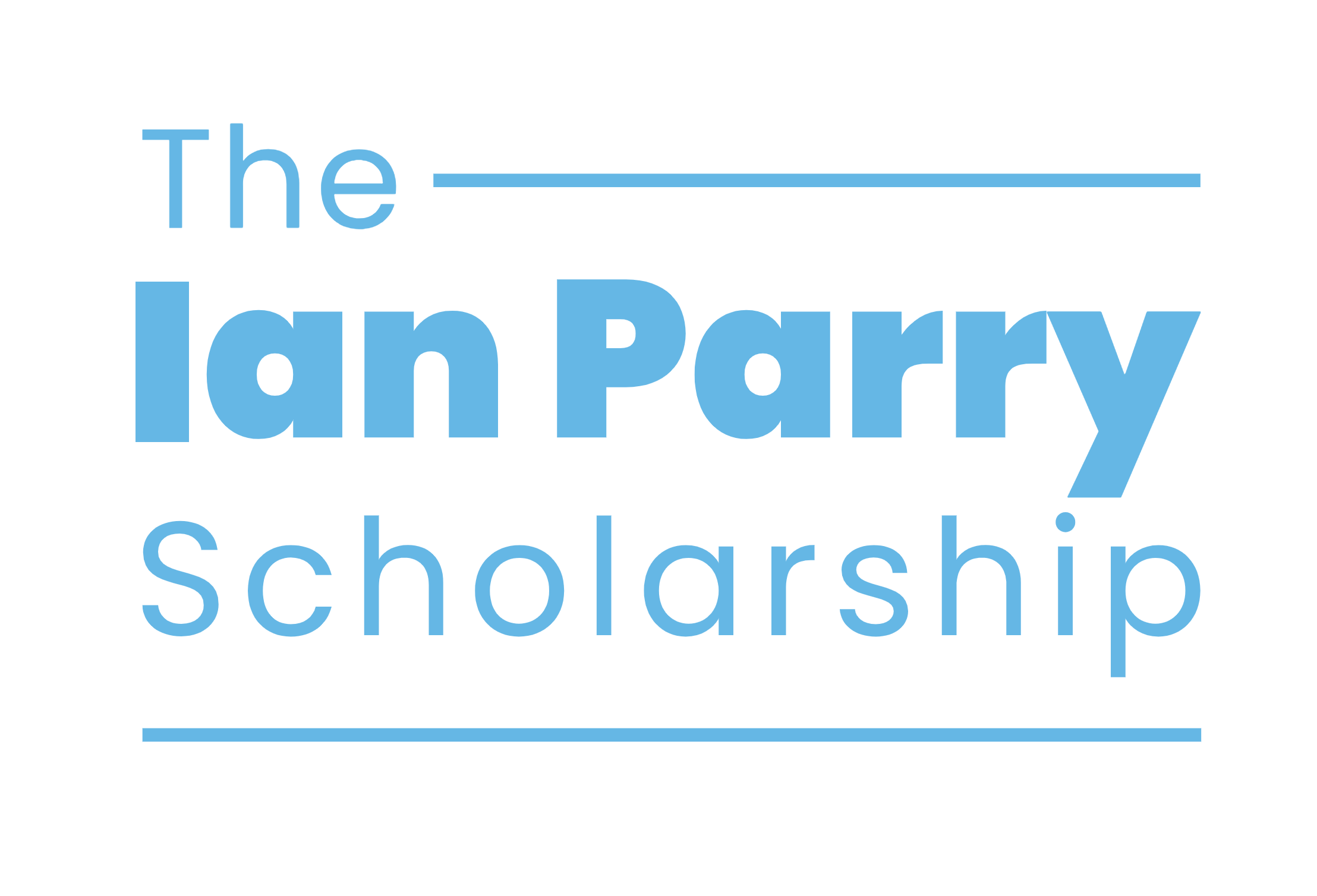 The Ian Parry Scholarship