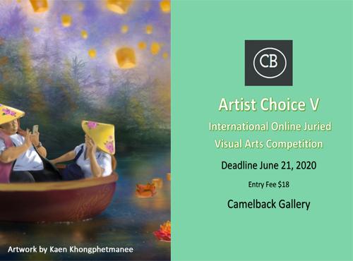 """Artist Choice V"" International Online Juried Visual Arts Competition"