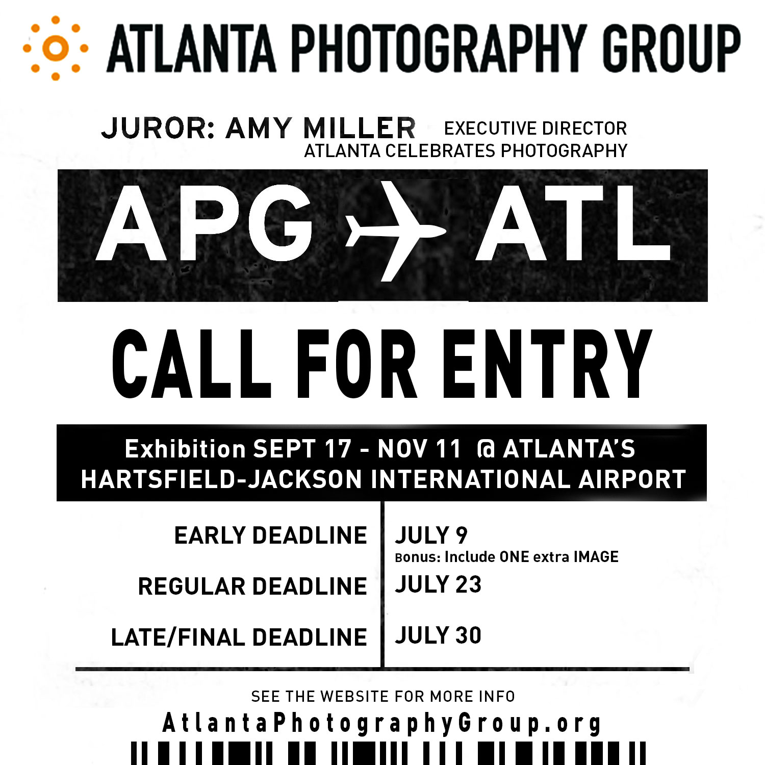 APG & ATL : Call For Entry