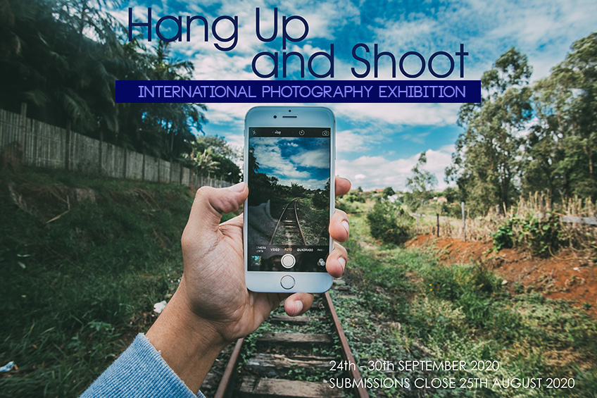 Hang up and Shoot, Phone photography exhibition