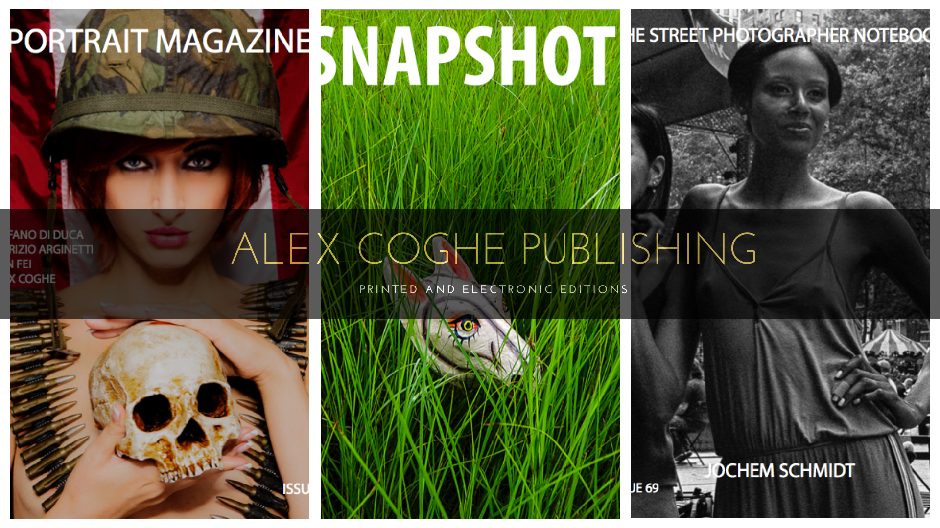 ALEX COGHE PUBLISHING call for photographers