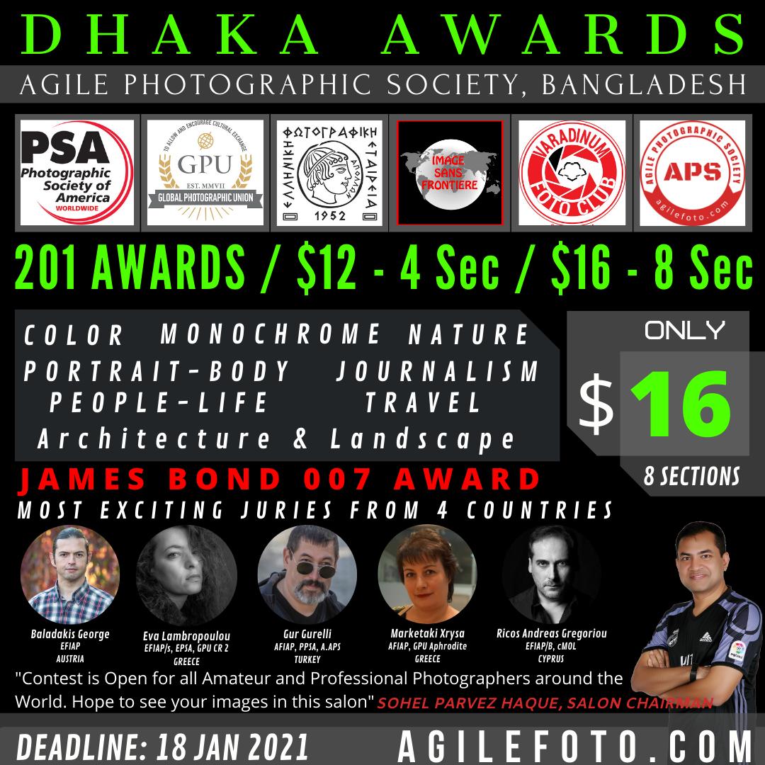 Dhaka Awards 2021