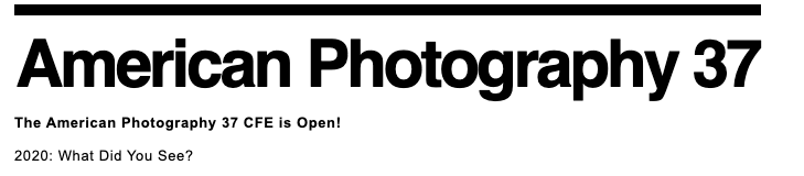 American Photography Annual 37