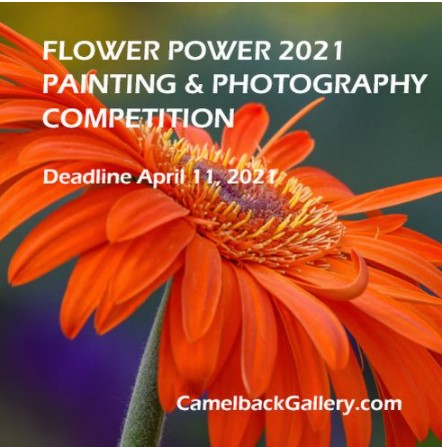 """""""Flower Power 2021"""" Photography Competition"""