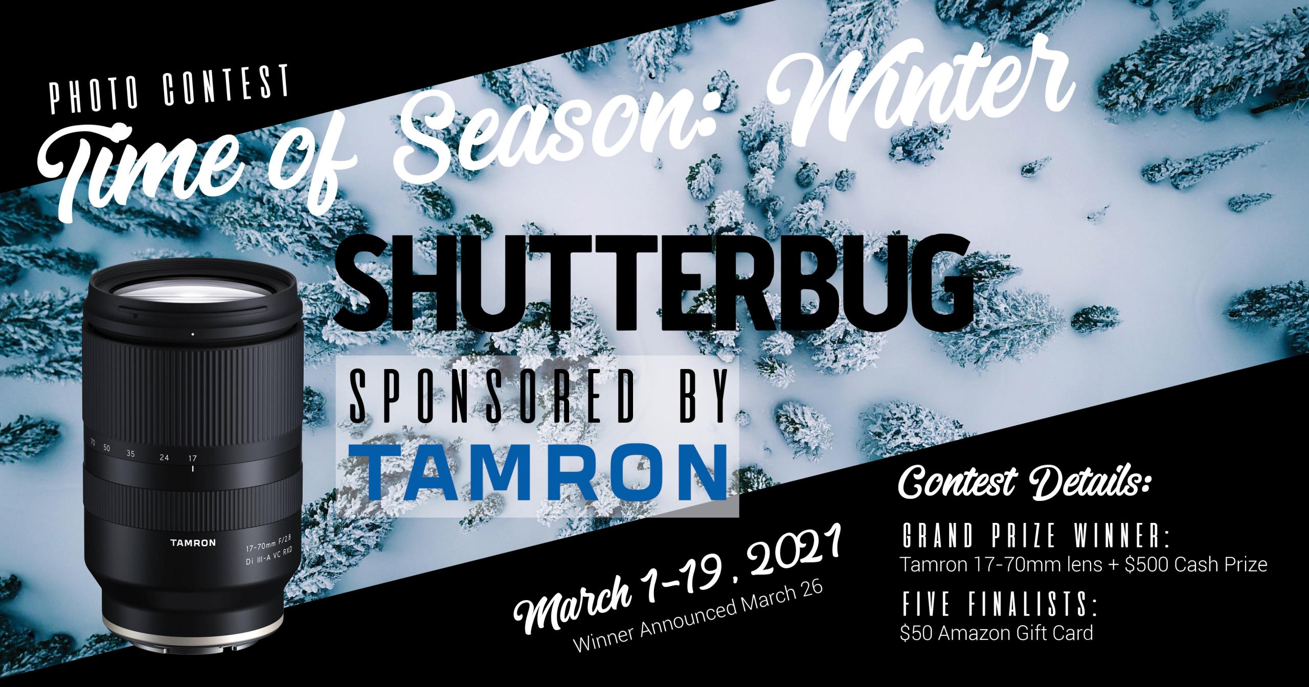 Shutterbug's Time of the Season: Winter