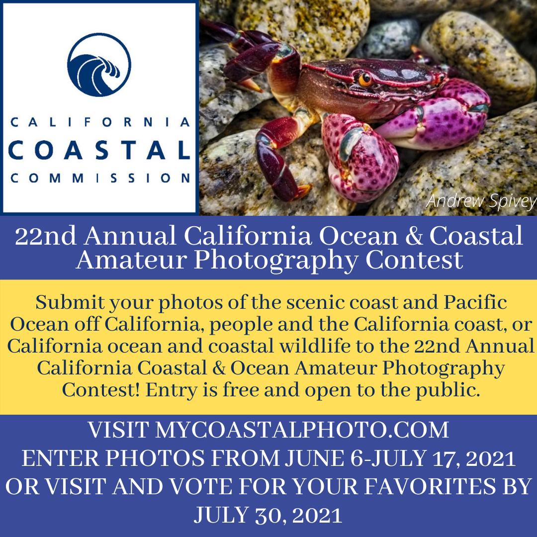 22nd Annual Coastal ND Ocean Amateur Photography Contest
