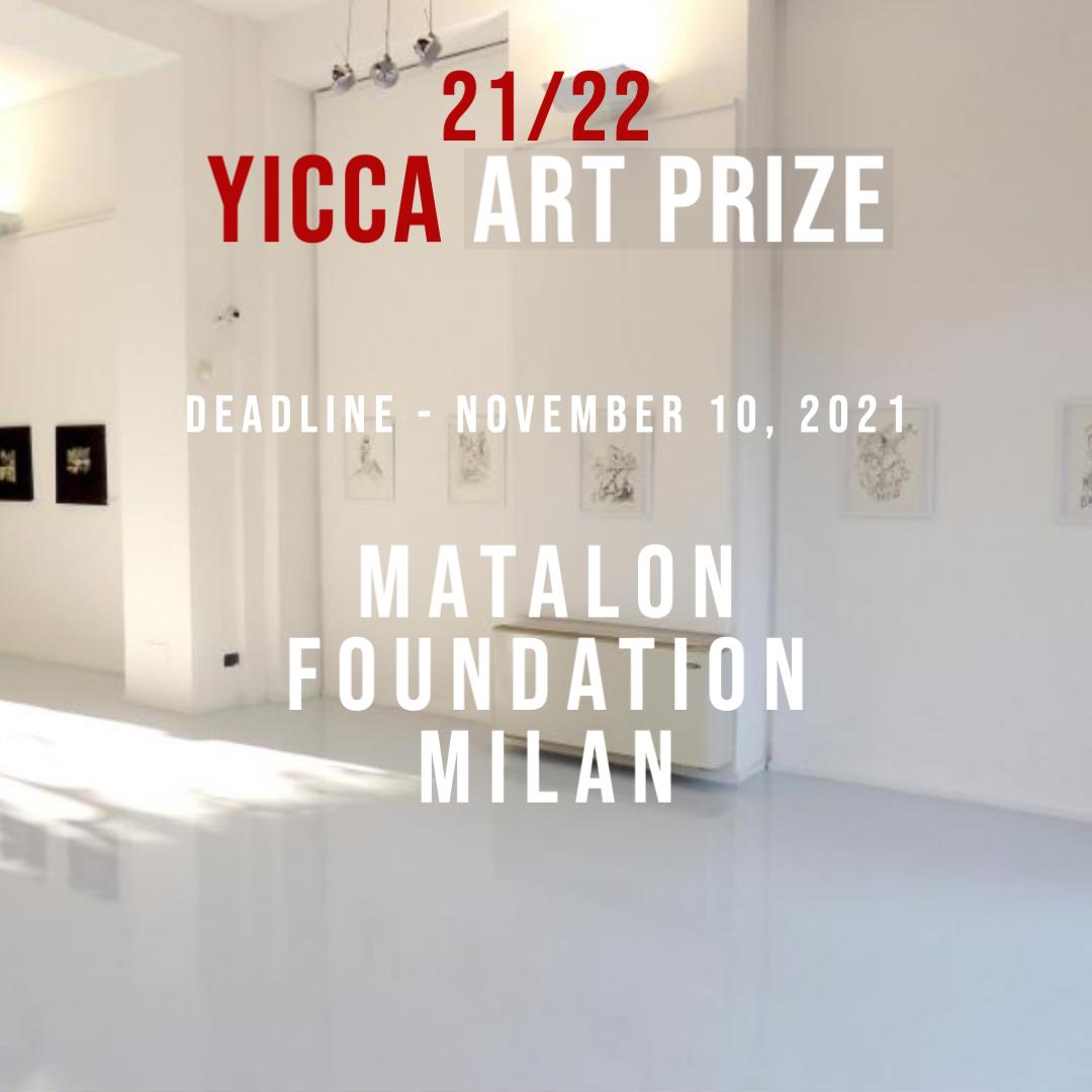 YICCA 21/22 – International Contest of Contemporary Art